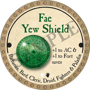 Fae Yew Shield - 2017 (Gold)