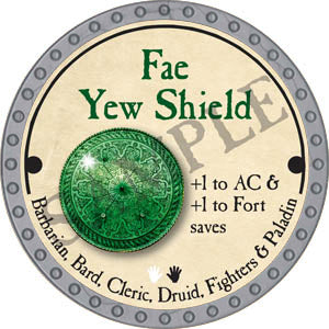 Fae Yew Shield - 2017 (Platinum)