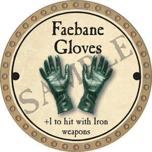 Faebane Gloves - 2017 (Gold)