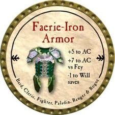 Faerie-Iron Armor - 2009 (Gold)