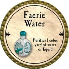 Faerie Water - 2009 (Gold)