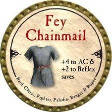 Fey Chainmail - 2010 (Gold)