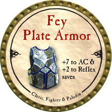Fey Plate Armor - 2010 (Gold) - C37