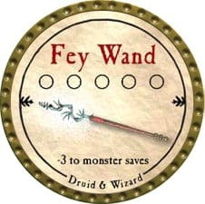 Fey Wand - 2009 (Gold)