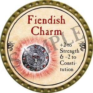 Fiendish Charm - 2016 (Gold) - C22
