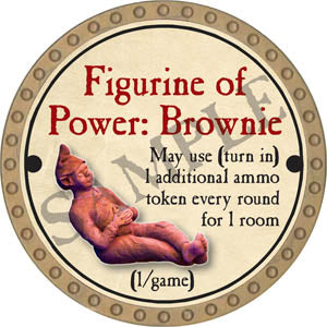 Figurine of Power: Brownie - 2017 (Gold)