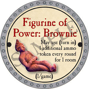 Figurine of Power: Brownie - 2017 (Platinum)