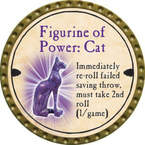 Figurine of Power: Cat - 2014 (Gold)