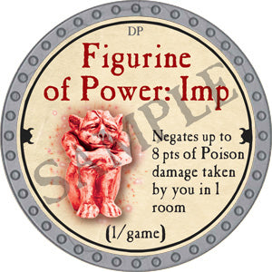 Figurine of Power: Imp - 2018 (Platinum)