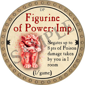 Figurine of Power: Imp - 2018 (Gold)