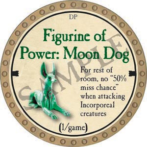 Figurine of Power: Moon Dog - 2020 (Gold)