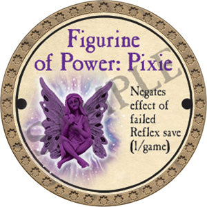 Figurine of Power: Pixie - 2017 (Gold)