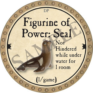 Figurine of Power: Seal - 2018 (Gold)