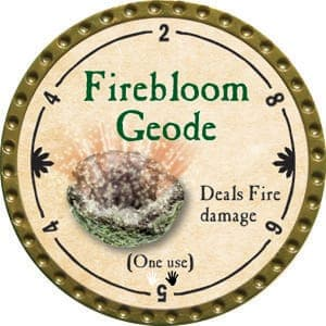 Firebloom Geode - 2015 (Gold)