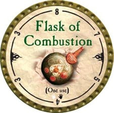 Flask of Combustion - 2010 (Gold) - C37