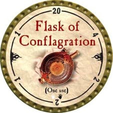 Flask of Conflagration - 2010 (Gold) - C37