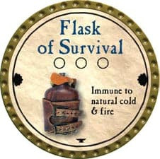 Flask of Survival - 2011 (Gold) - C37