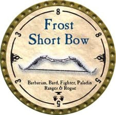 Frost Short Bow - 2010 (Gold) - C37