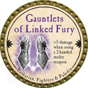 Gauntlets of Linked Fury - 2015 (Gold) - C48
