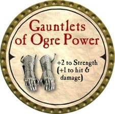 Gauntlets of Ogre Power - 2007 (Gold)
