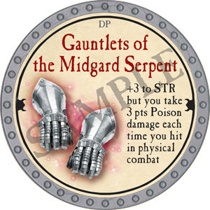 Gauntlets of the Midgard Serpent - 2018 (Platinum)