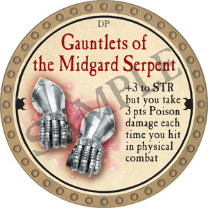 Gauntlets of the Midgard Serpent - 2018 (Gold)