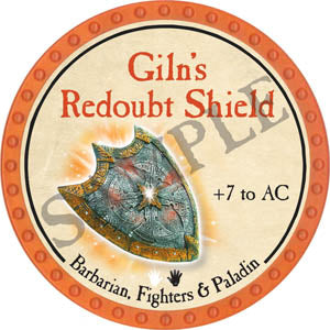 Giln's Redoubt Shield - 2017 (Orange) - C1