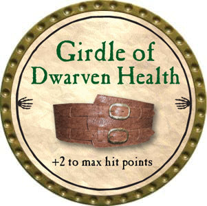 Girdle of Dwarven Health - 2012 (Gold)