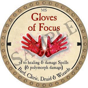 Gloves of Focus - 2020 (Gold)