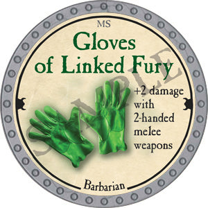 Gloves of Linked Fury - 2018 (Platinum)