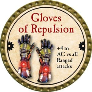 Gloves of Repulsion - 2013 (Gold)