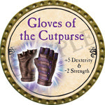 Gloves of the Cutpurse - 2016 (Gold) - C11