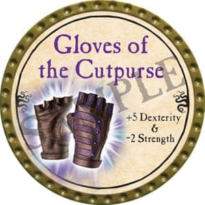 Gloves of the Cutpurse - 2016 (Gold)