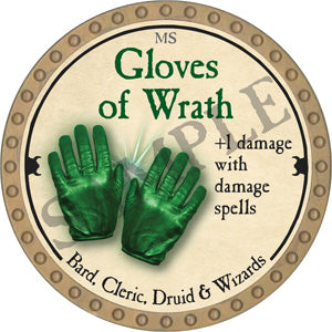 Gloves of Wrath - 2018 (Gold)