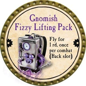 Gnomish Fizzy Lifting Pack - 2013 (Gold)