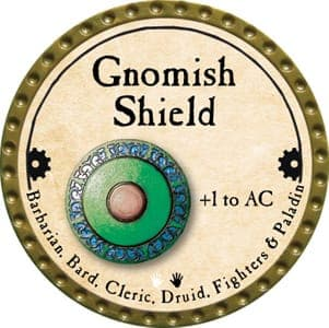 Gnomish Shield - 2013 (Gold)