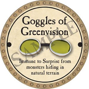 Goggles of Greenvision - 2017 (Gold)