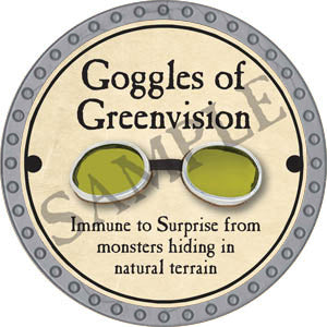 Goggles of Greenvision - 2017 (Platinum)