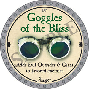 Goggles of the Bliss - 2018 (Platinum)