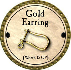 Gold Earring - 2011 (Gold)