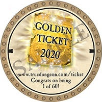 Golden Ticket - 2020 (Gold) - C30