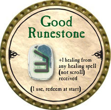 Good Runestone - 2010 (Gold)