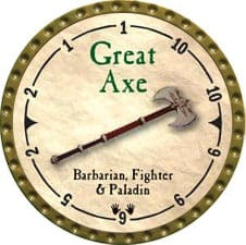 Great Axe - 2007 (Gold)