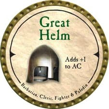 Great Helm - 2007 (Gold)