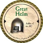 Great Helm - 2008 (Gold)
