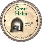 Great Helm - 2008 (Platinum)