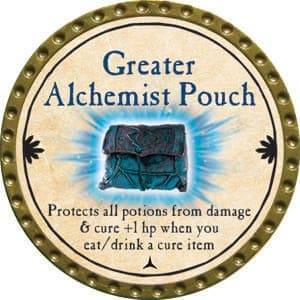 Greater Alchemist Pouch - 2015 (Gold) - C10