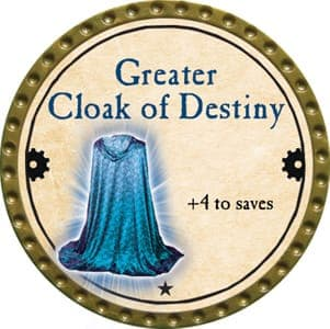 Greater Cloak of Destiny - 2013 (Gold) - C26