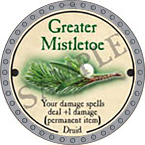Greater Mistletoe - 2017 (Platinum)