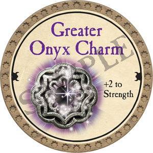 Greater Onyx Charm - 2018 (Gold)
